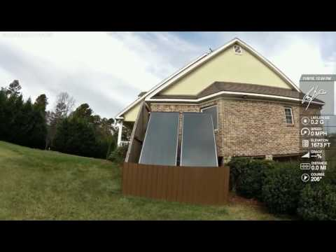 Solar hot water system tour