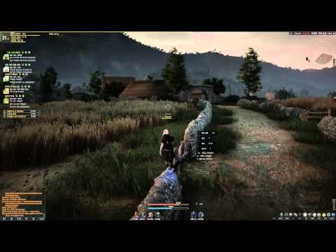 Black Desert Online Sorcerer Training and AoE Leveling HD