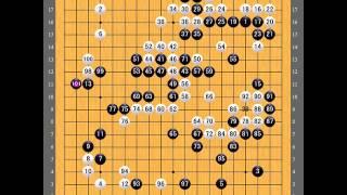 第55期十段戦挑戦手合五番勝負 第2局 棋譜|●余正麒 vs ○井山裕太|●Yo Seiki vs ○Yuta Iyama