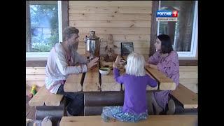 В гостях у Ивана Бояринцева. Живая Баня у Ивана Тыелга