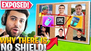 How Epic Has SECRETLY Been REMOVING SHIELD! (Crazy Theory) - Fortnite Battle Royale