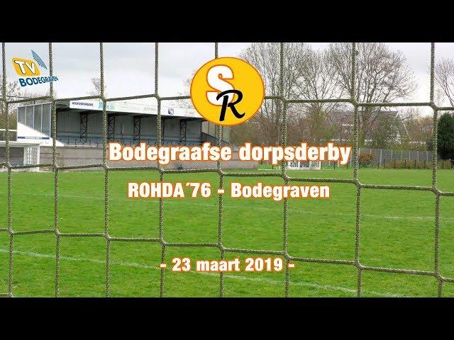 Sport Report: Bodegraafse dorpsderby Rohda'76 - Bodegraven