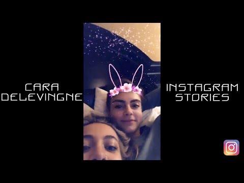 Cara Delevingne | Instagram Stories | 4-19 March 2018 (ft. Paris Jackson)