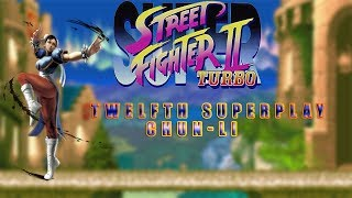 Super Street Fighter II Turbo - Chun-li【TAS】