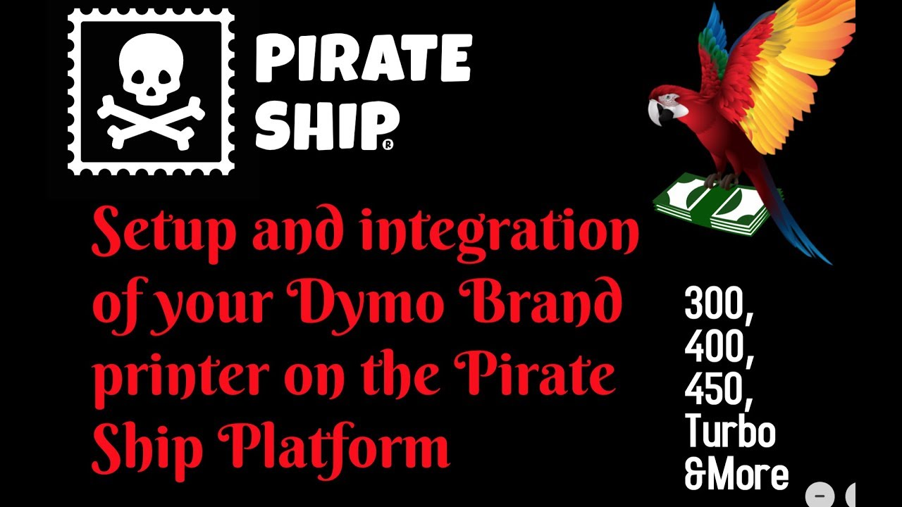Can I Print with a Dymo 450? | Pirate Ship Support