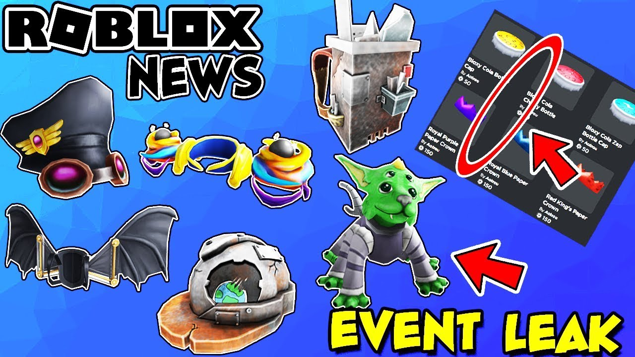 Roblox News New Free Event Items Leaked Avatar Shop S New Look