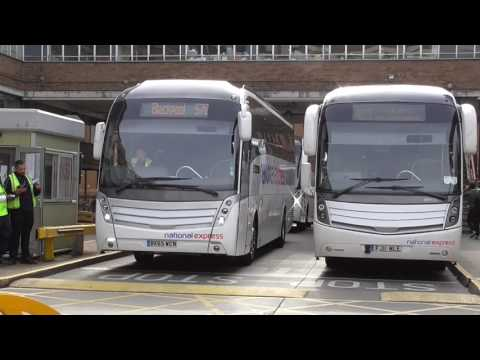 London Victoria Coach Station 11/03/2017