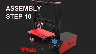 TEVO Black Widow V3 assembly - STEP 10 (dragchain)