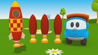 Leo Junior und die Rakete. Cartoon für Kleinkinder.