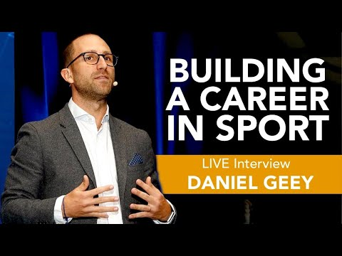 """IWorkinSport LIVE Interview #5: """"Building A Career In Sport"""", With Daniel Geey"""