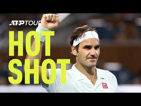 Hot Shot: Federer vs Anderson, From Close Range! Miami 2019