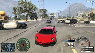 GTA 5 Lamborghini SVL Độ 1000 Mã Lực Đi Cướp Ngân Hàng Cảnh Sát Bó Tay ...