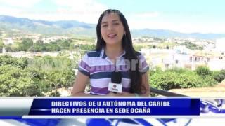DIRECTIVOS DE U AUTÓNOMA DEL CARIBE HACEN PRESENCIA EN SEDE OCAÑA