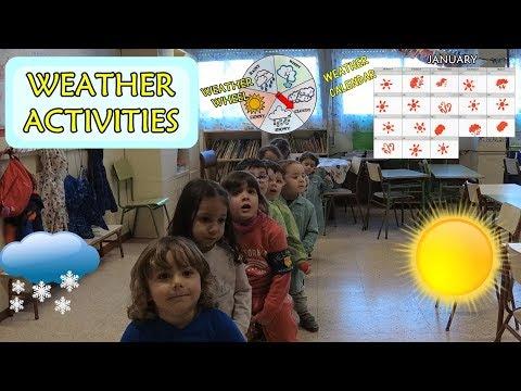 Weather activities || Juegos de vocabulario || Infantil y Primaria|| LIAPOC
