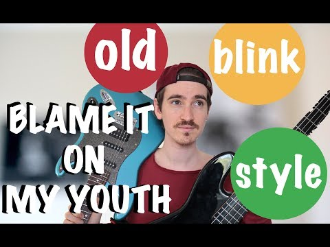 BLAME IT ON MY YOUTH (Tom Delonge Style/old blink Cover) Mp3