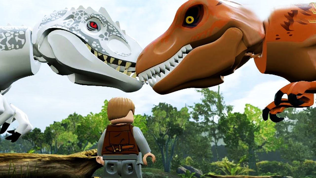 Lego Jurassic World Indominus Rex Gameplay Free Roam Youtube