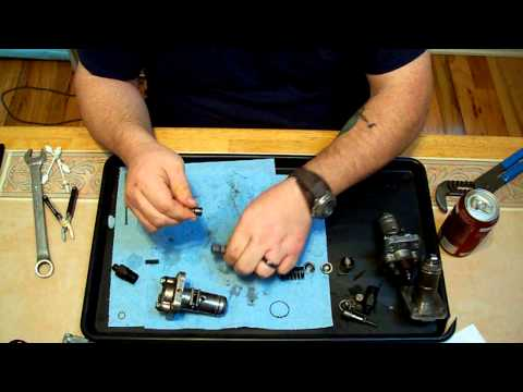 Bosch PFR type diesel injection pump teardown