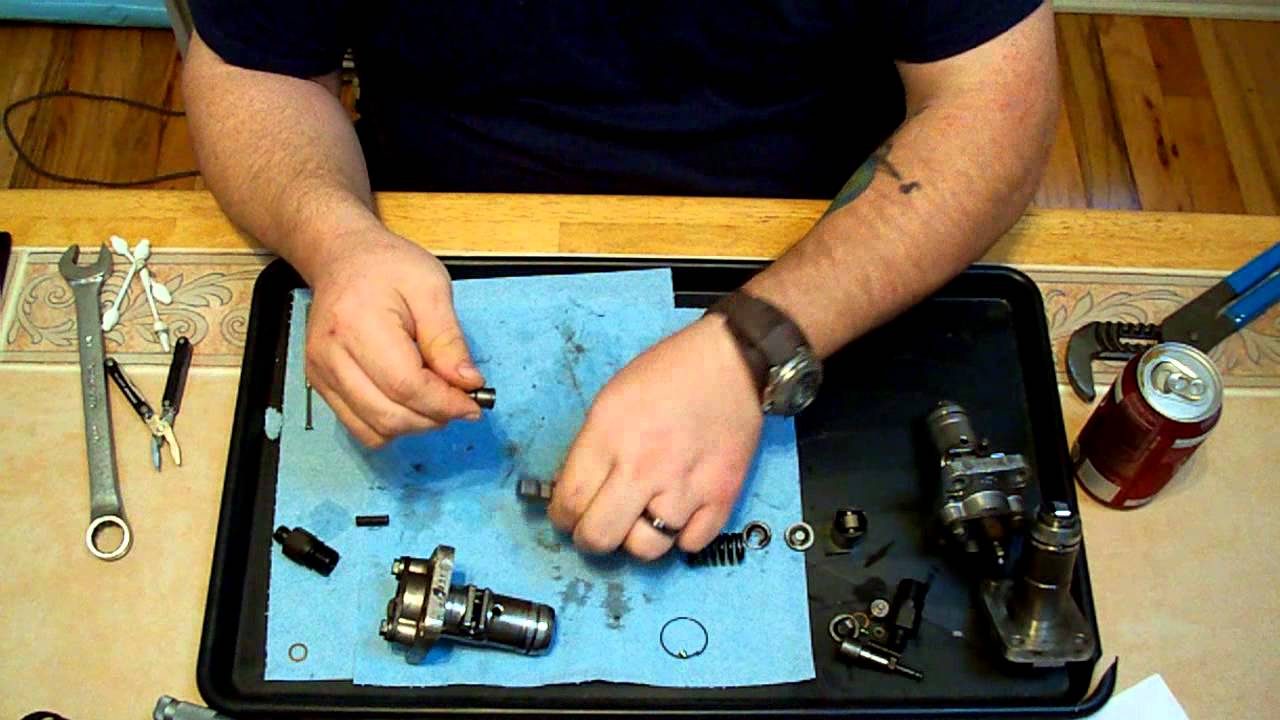 bosch pfr type diesel injection pump teardown