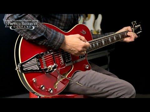 Duesenberg USA Starplayer TV Deluxe Semi-Hollow Electric Guitar