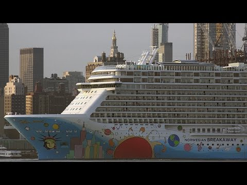 Cruise Ships Visiting New York City, 2016 (Part 1)