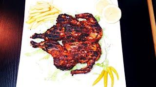 Restaurant style peri peri al faham chicken recipe  malayalam  spicy grilled #bbq  #raizasrecipe