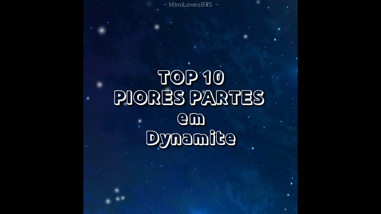 TOP 10 WORST PARTIES IN DYNAMITE