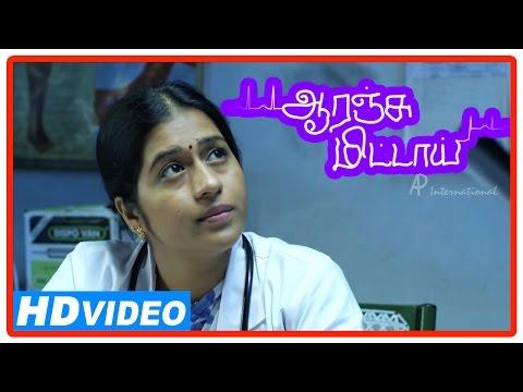 Orange Mittai Tamil Movie | Scenes | Vijay Sethupathi Talks In Support Of Ramesh | Aashritha