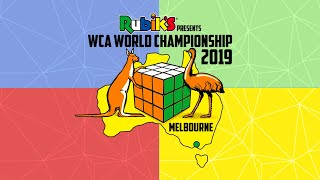 WCA World Chionship 2019 Day 2 Part 1 2