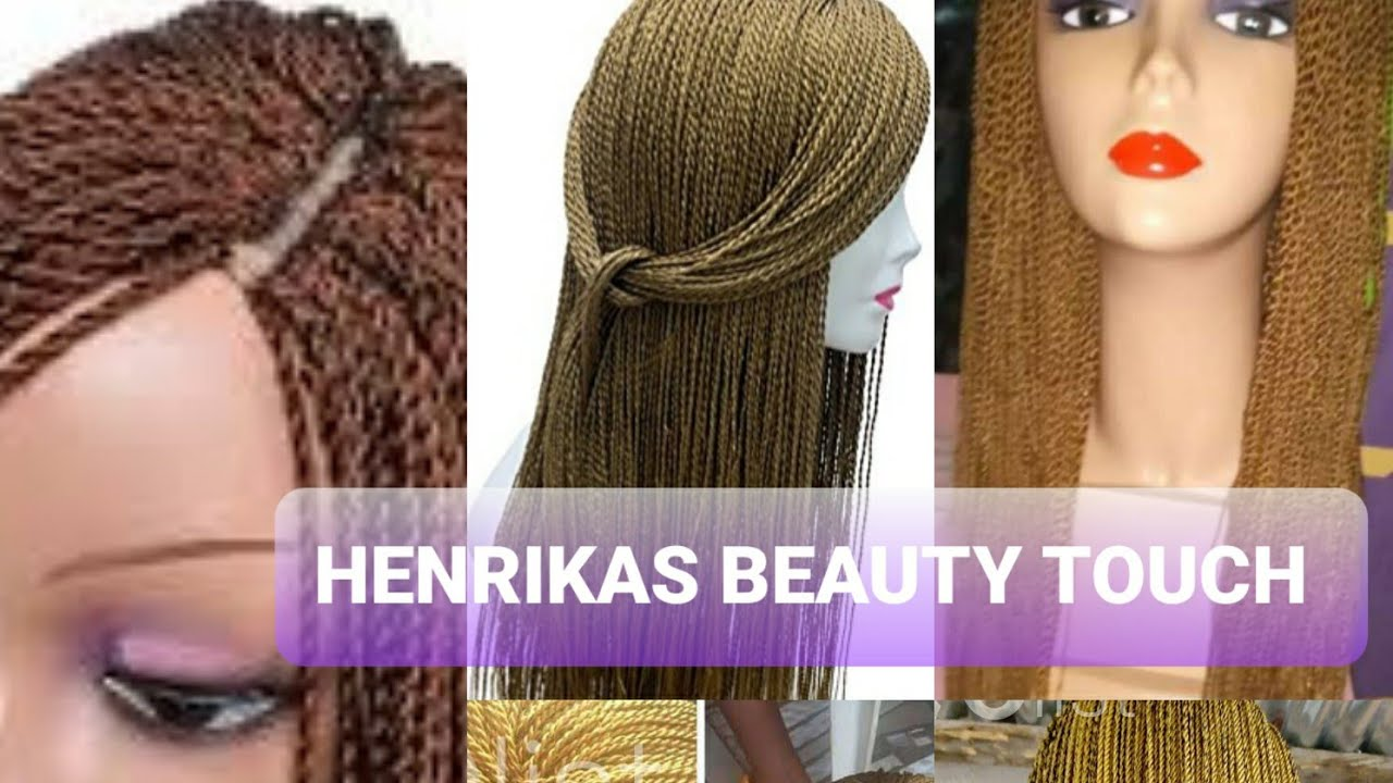 Download No closure.How to make a Braided/Twist Wig/Million braid wig/Henrikas Beauty Touch/Malaysia Youtuber