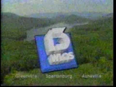 WLOS-TV 13, Asheville, NC Sign-off and Sign-on from Spring 1988