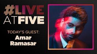 Broadway.com #LiveatFive with Amar Ramasar of CAROUSEL