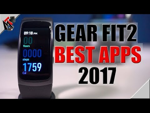 Samsung Gear Fit Apps