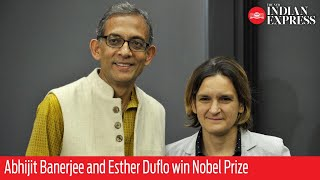Abhijit Banerjee and Esther Duflo win Nobel Prize for work on alleviating poverty