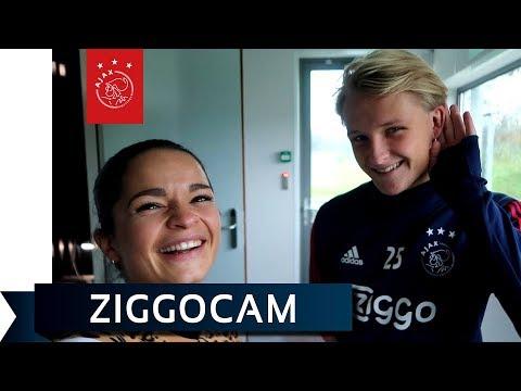 ZiggoCam - Dolberg: 'Een beetje gek, maar het is oké'