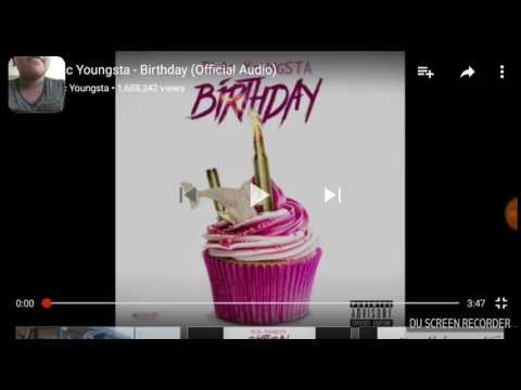 Reaction video to Blac youngsta birthday
