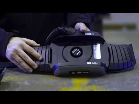 With the right type of filter, the Adflo PAPR can protect welders from both particles and gases.