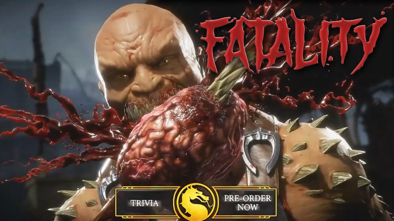 GAMEPLAY MORTAL KOMBAT 11 (ALL Xray´s, Special moves, FATALITY´S) | Willthur