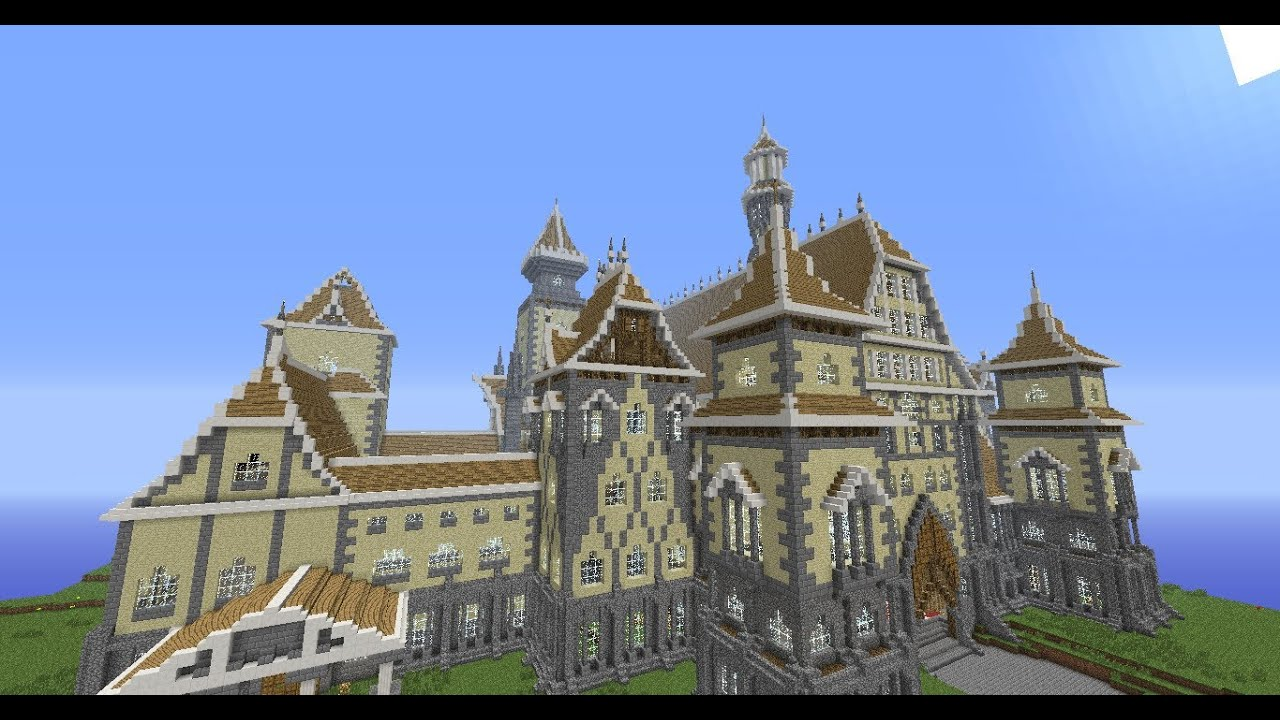Minecraft Builds: Epic Palace - YouTube