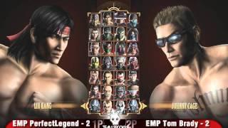 Mortal Kombat 9 Tournament: PowerUp Grand Finals EMP PerfectLegend vs EMP Tom Brady