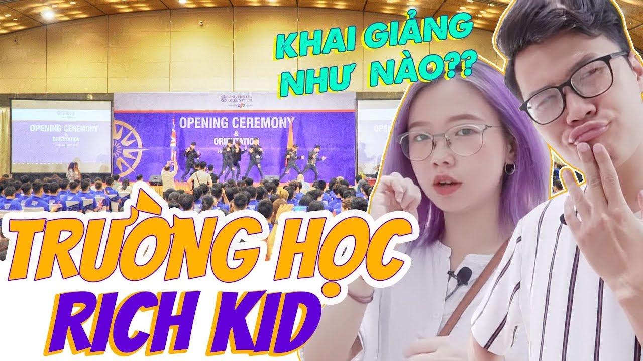 Vlog Mi Sơn: Trường ĐH của Richkid khai giảng như thế nào? | Review ĐH Greenwich Việt Nam