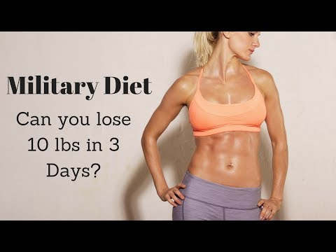 3-day-military-diet-overview---can-you-really-lose-10-lbs-in-3-days?