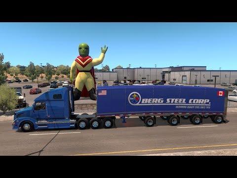 New México | De Roswell UFO Land a Hobbs | Volvo VNL 670