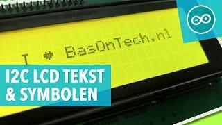 #11 Tekst en symbolen op een I2C LCD display