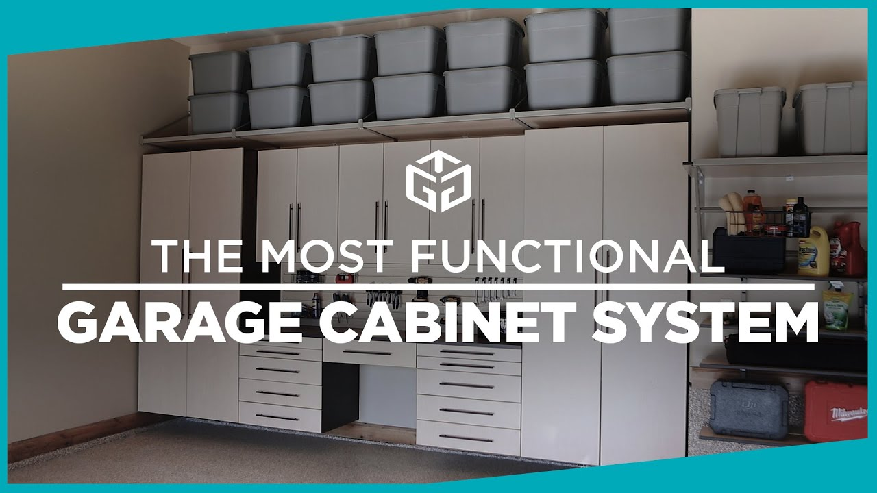 The Most Functional Garage Cabinet Systems By Gorgeous Youtube