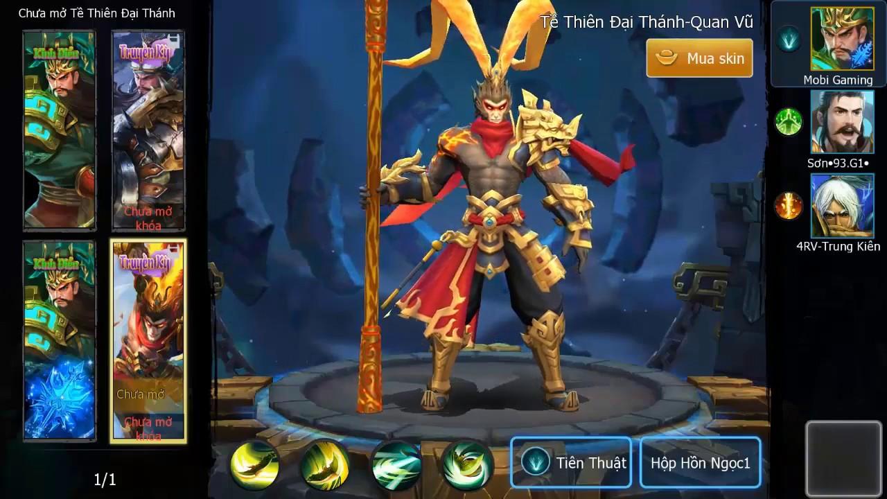 3q 360Mobi Hướng dẫn chơi Quan Vũ đấu Rank cao thủ