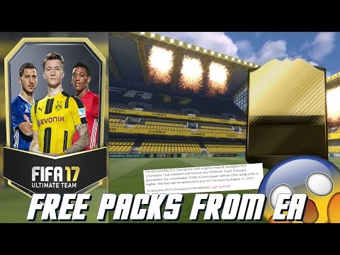 FIFA 17 FREE PACKS FROM EA😱!! HOW TO GET FREE PACKS FROM EA! FREE 84 TOTW GURANTEED PACK