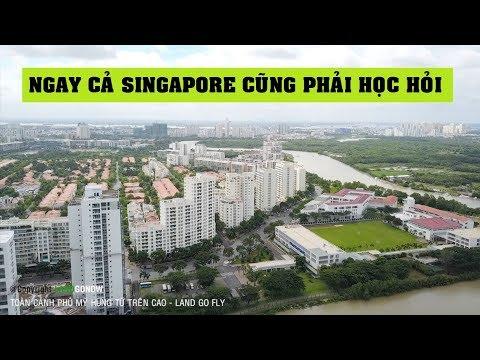 Khu đô thị Phú Mỹ Hưng, Quận 7 - Tầm cỡ Đông Nam Á - Land Go Fly ✔