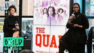 """Anika Noni Rose Discusses Her BET Show, """"The Quad"""""""
