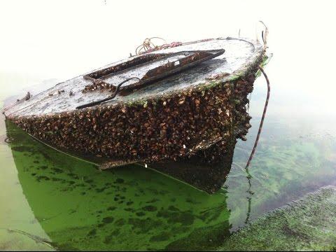 видео: Подъем старых затонувших катеров