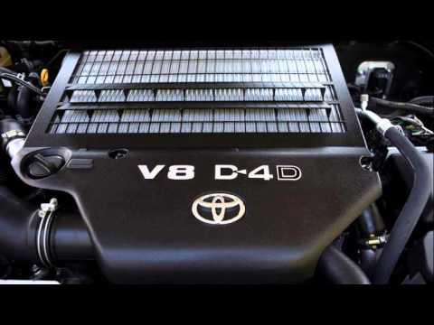 toyota land cruiser v8 diesel - YouTube